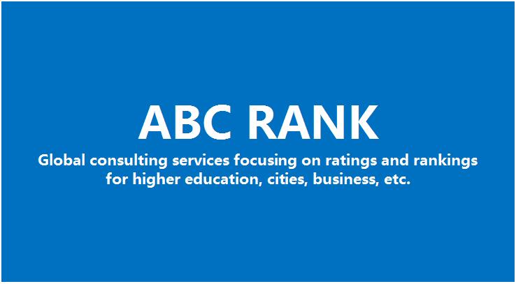 ABC RANK-第2张图片-中国大学排行榜